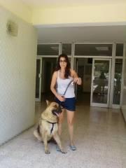 tunis,femmes modernes,chiens de race,molosses,anti salafistes,liberté